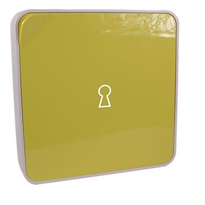 Schlüsselhalter | ABS weiß | HxBxT 320 x 320 x 60 mm