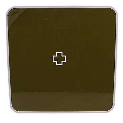 Multibox | ABS weiß | HxBxT 320 x 320 x 70 mm