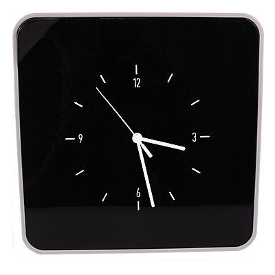 Schlüsselhalter mit Uhr | ABS weiß | HxBxT 320 x 320 x 60 mm