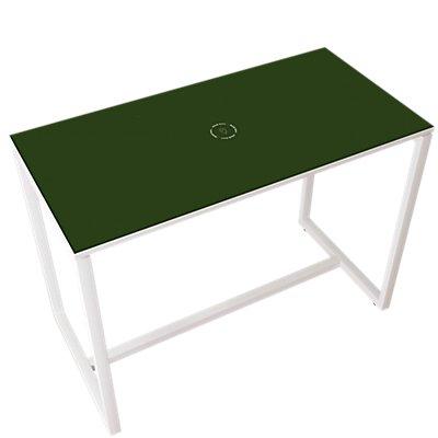 Stehtisch für BEsprechungen | Mit Massivholz-Tischbeinen | HxBxT 1100 x 1140 x 750 mm