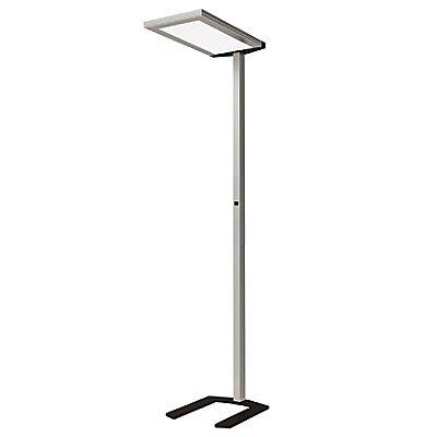 Regiolux LED Design-Stehleuchte - extraflacher Leuchtenkopf, Höhe 1950 mm