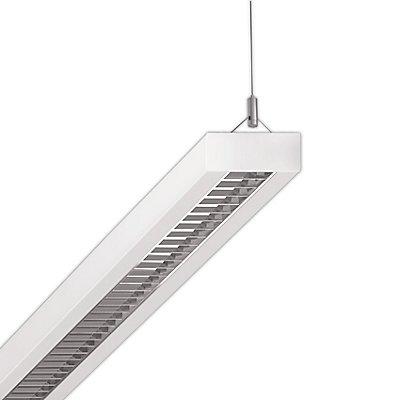 Regiolux LED Pendelleuchte mit Stahlblechgehäuse -34 Watt, Länge 1200 mm