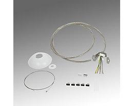 Regiolux Seilabhängung für LED Pendelleuchte - Länge 2200 mm
