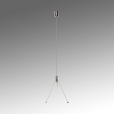 Regiolux Seilabhängung für LED Pendelleuchte - Metallseil, Länge 2200 mm