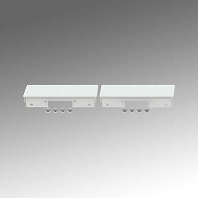 Regiolux Design Endstücke für LED Pendelleuchte - VE 2 Stück, verkehrsweiß