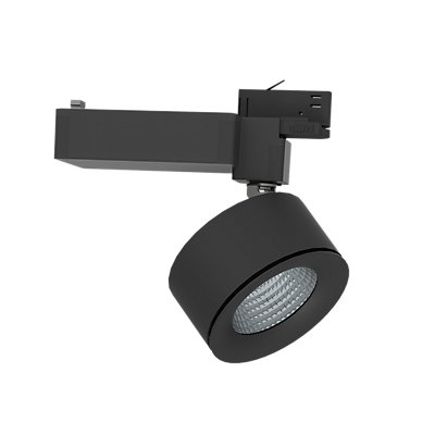 Illuxtron LED Stromschienenstrahler - Abstrahlwinkel 18°