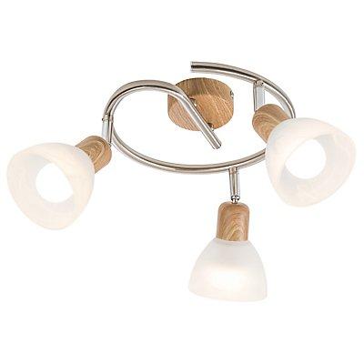 Nino Deckenleuchte DAYTONA mit 3 LED-Spots spiralförmig - Durchmesser: 250 mm
