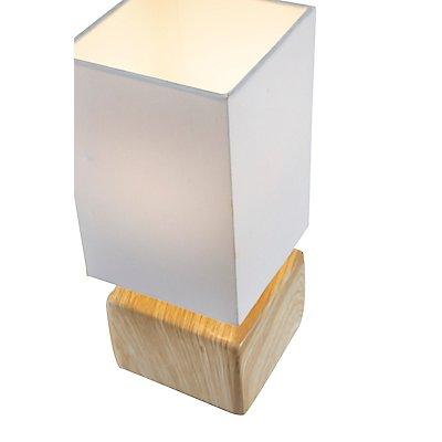 Nino Tischleuchte DERRY - mit Keramik-Fuß, Höhe: 270 mm