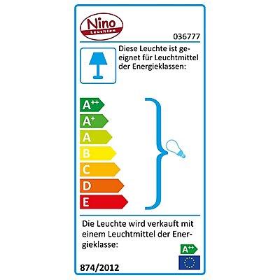 Nino Wandleuchte LARGO mit LED-Spot - chromfarbig