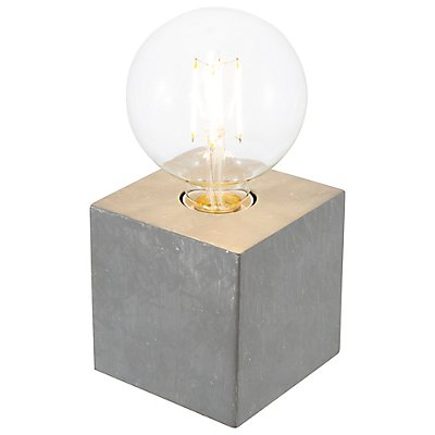 Nino Tischleuchte LEONIE - mit Glaskugel, Höhe: 100 mm