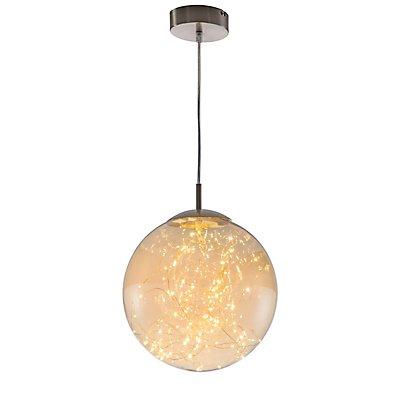 Nino LED Pendelleuchte LIGHTS - Glaskugel, Durchmesser: 250 mm