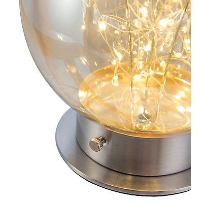 Nino LED Kugel-Tischleuchte LIGHTS - Glaskugel, Durchmesser: 200 mm