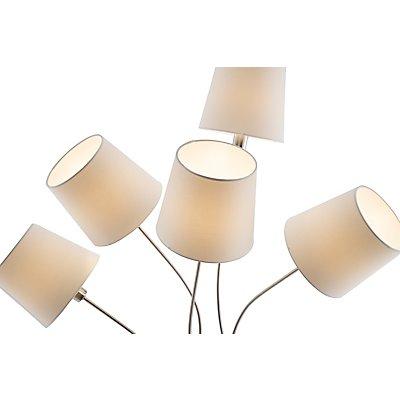 Nino Stehleuchte LIMA - mit Stoff-Lampenschirmen