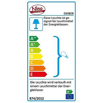 Nino Deckenleuchte LUNA mit 3 LED-Spots - spiralförmig