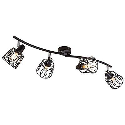 Nino LED Spot-Leuchte WIRE - schwarz