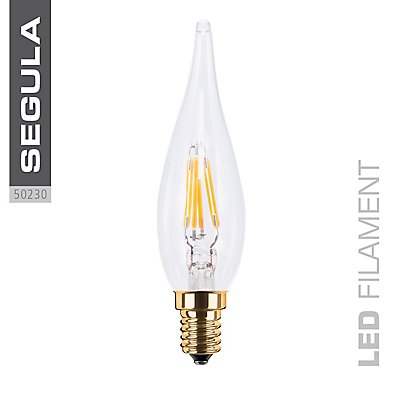 LED Kerzenlampe French Candle klar - 60 Lumen
