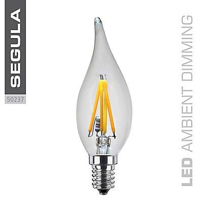 LED Kerzenlampe Windstoß klar - 160 Lumen