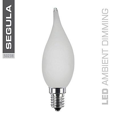 LED Kerzenlampe Windstoß matt - 150 Lumen