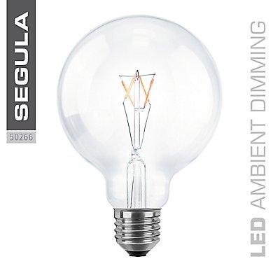 LED Glühlampe Globe Ø95 mm - klar