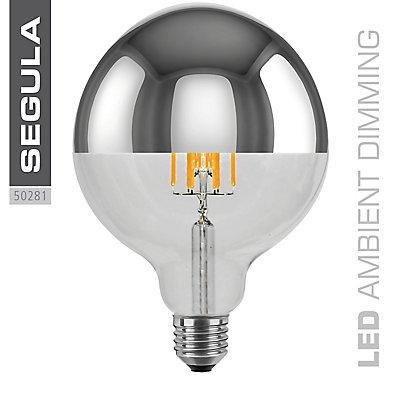 LED Glühlampe mit Spiegelkopf Globe - Ø 125 mm