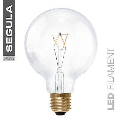 LED Glühlampe Globe 95 klar - 3,5 Watt, X-Style
