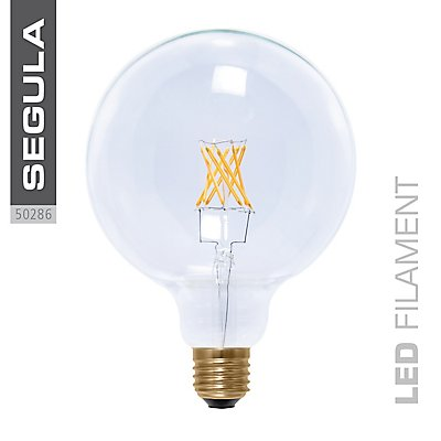 LED Glühlampe Globe 125 klar - 8 Watt, Twisted