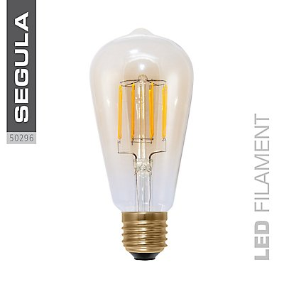LED Glühlampe RUSTIKA Golden - dimmbar
