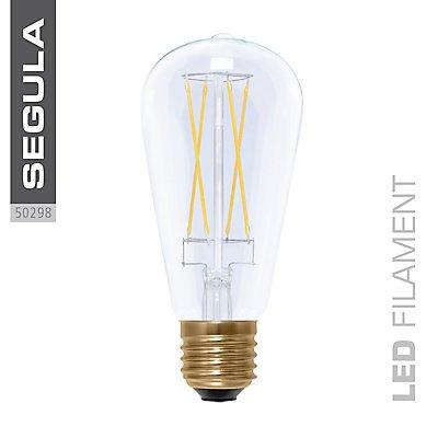 LED Glühlampe RUSTIKA long style - klar, X-Style