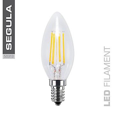 LED Kerzenlampe klar - 4 Watt, 360 Lumen