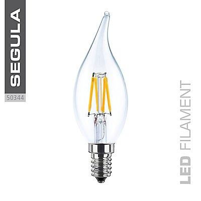 LED Kerzenlampe Windstoß - 3,5 Watt, 2600 Kelvin