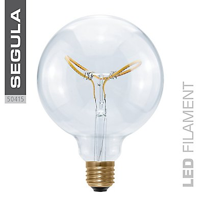 LED Glühlampe Globe Curved Butterfly - Durchmesser 125 mm