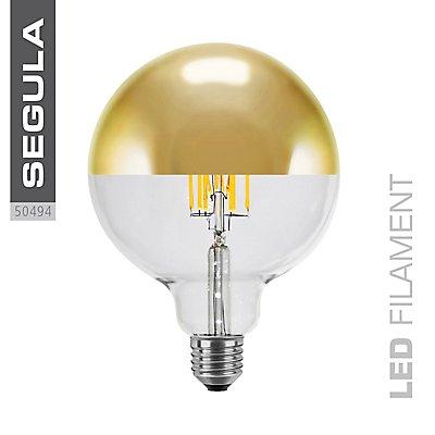 LED Glühlampe Globe mit Spiegelkopf - 125 mm