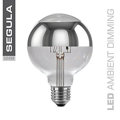 LED Glühlampe Globe ringverspiegelt - Durchmesser 95 mm