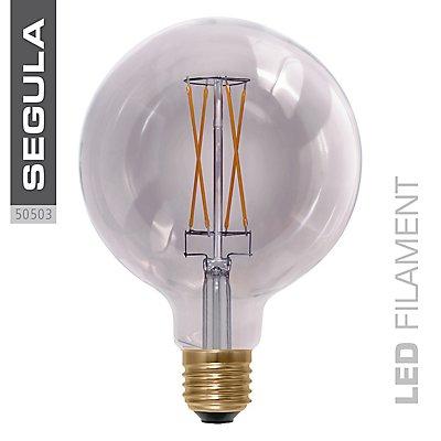 LED Glühlampe Globe smokey grau - Durchmesser 125 mm