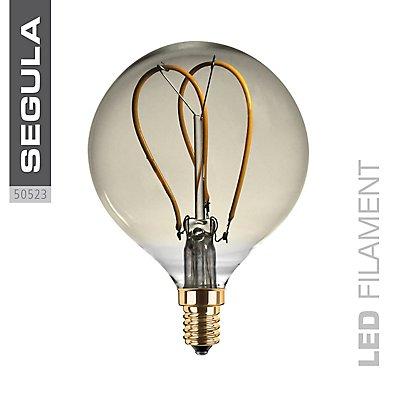 LED Glühlampe Globe Curved gold - Durchmesser: 80 mm