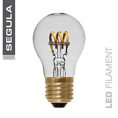 LED Glühlampe klein curved klar - 2,7 Watt