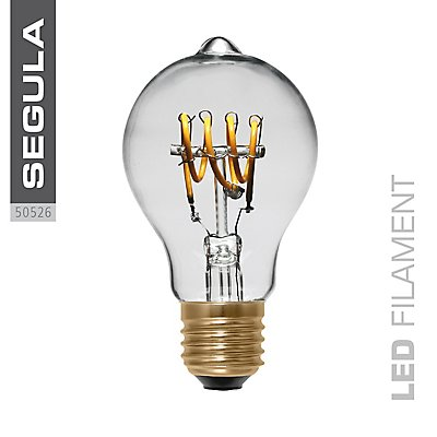 LED Glühlampe Bulb Curved klar