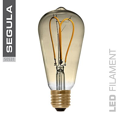 LED Glühlampe RUSTIKA curved loop gold