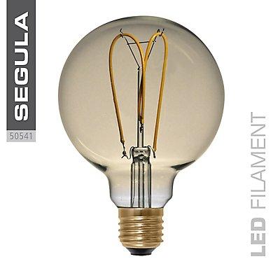 LED Glühlampe Globe Curved Gold - Durchmesser: 125 mm