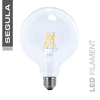 LED Glühlampe Globe klar 125 mm - 6 Watt