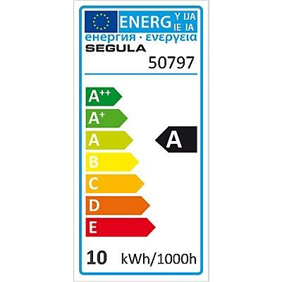 LED Glühlampe Ellipse Curved U klar - 10 Watt