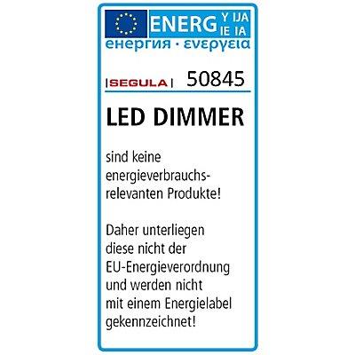 LED Schnurdimmer mit Fußschalter - schwarz