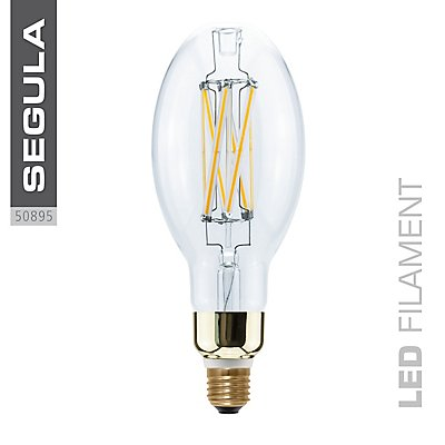 LED Glühlampe Ellipse High Brightness - klar