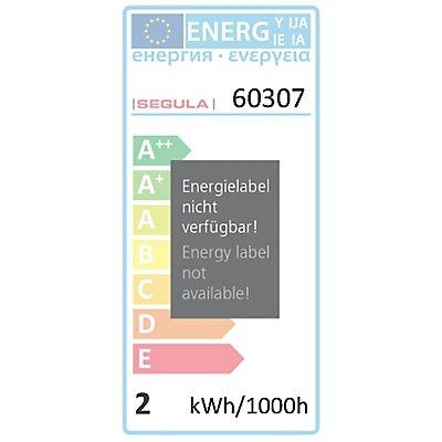 LED Glühlampe klar grün - 2 Watt