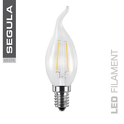 LED Kerzenlampe Windstoß klar - 250 Lumen