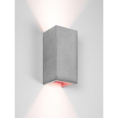 GANTlights Wandlampe aus Beton mit Innenbeschichtung