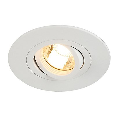 NEW TRIA XL ROUND GU10 Downlight, max. 50 Watt, inkl. Clipfedern