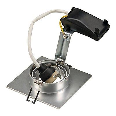 NEW TRIA XL SQUARE GU10 Downlight, max. 50 Watt, inkl. Clipfedern