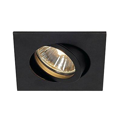 NEW TRIA 68 GU10 SQUAREDownlight, max. 50 Watt, inkl. Clipfedern