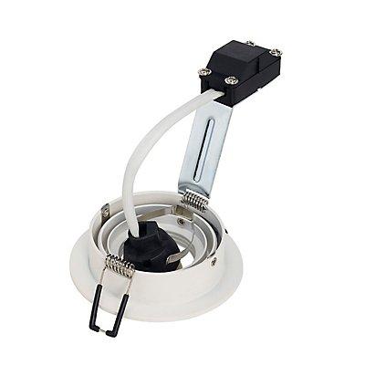 NEW TRIA GU10 ROUND Downlight,mattweiss, max. 50W, inkl.Clipfedern